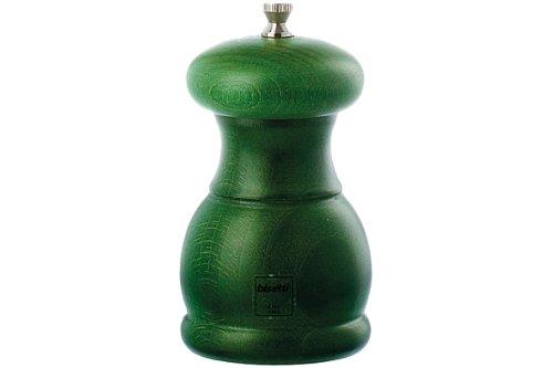 Bisetti 5335 Moulin à Sel Hêtre Vert 11,5 cm
