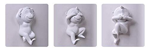 Dierlijke Sculptuu Thuis Woonkamer Kantoor Decoratie Standbeeld Weinig Van De De Woonkamer Slaapkamer Van Het Aaphuis De Muurdecoratie Muurhaak