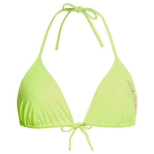 Calvin Klein Triangle Almohadillas y Rellenos de Sujetador, Amarillo (Safety Yellow ZAA), M para Mujer