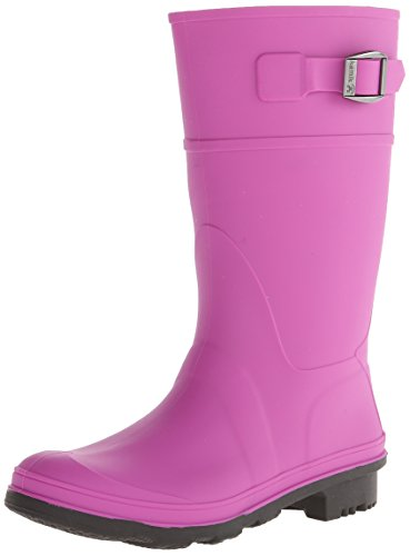 Kamik Girls Raindrops Rain Boot Viola, 4 M US Big Kid