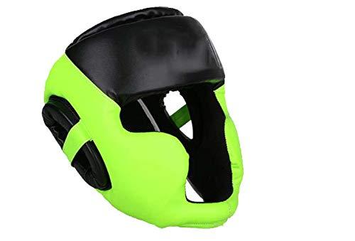 Yx-outdoor latex bokshelm hoofd inclusief gezicht en kin bescherming, Taekwondo sanda helm