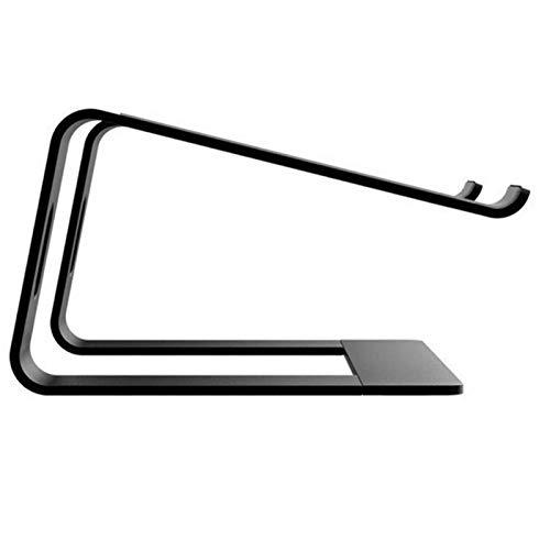 Laptop Stand, Soporte for portátil Laptop soporte ergonómico altura Soporte portátil ángulo computadora de escritorio del soporte del ordenador portátil portátil de aleación de aluminio portátil (Colo