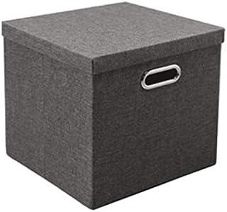 Lpiotyucwh Paniers et Boîtes De Rangement, 1 pcs carré Rangement bacs boîtes idéales pour Les vêtements, couvertures, plac...