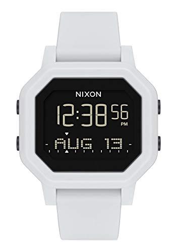 Nixon Damen Digital Uhr mit Silikon Armband A1210-100-00