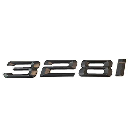 SUKRAGRAHA Replacement Model No. Rear 3D Sticker Emblem Badge for BMW 316i 318i 320i 323i 325i 328i 330i 335i (328i)