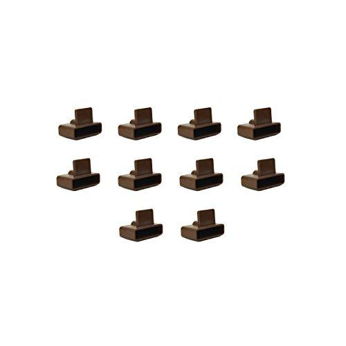Lot de 10 supports pour cadres en bois 53 x 12 mm