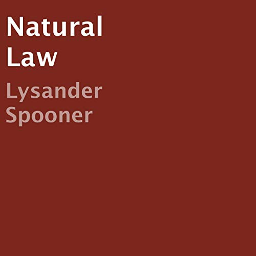 Natural Law  By  cover art