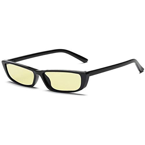 Gafas De Sol Polarizadas Gafas De Sol De Ojo De Gato Vintage para Mujer, Gafas De Sol De Montura Pequeña A La Moda para Mujer, Gafas De Gato con Personalidad Retro Uv400 Byell