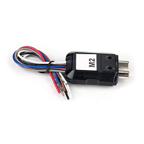 Convertidor de audio para coche, fácil de instalar, duradero, de audio alto y bajo