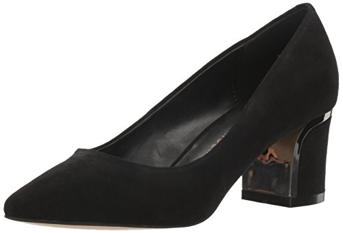 Athena Alexander Women's Zabel Dress Pump, Black Suede, 6 M US