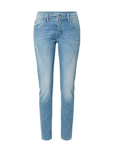 Gang Damen Jeans New Georgina DEEP Crotch Blue Denim 29