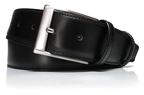 almela - Cinturón Hombre Cremallera Interior - Piel Legitima - Billetero interno...