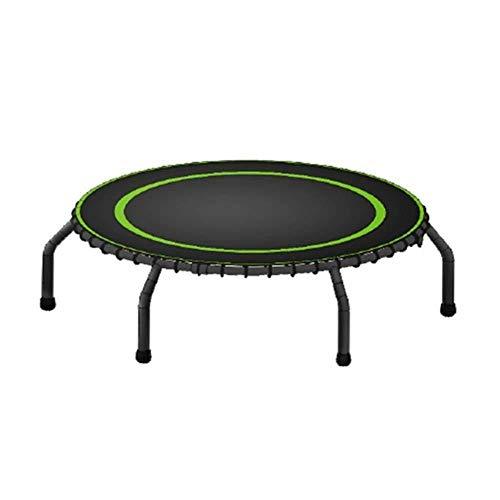 Vouwen 44 Inch Trampoline Fitness Draagbare Stille bounce Cardio Workout Indoor Outdoor– Plezier Voor Volwassenen Kinderen
