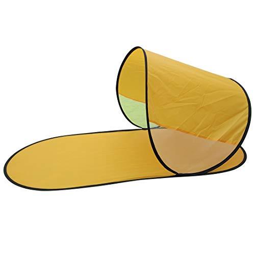YST Pop Up Strandmuschel Tragetasche Sonnenschutz Outdoorer Pop up Zack Wurf-Strandmuschel mit UV-Schutz Als Schattenspender am Strand 145x70x70cm selbstaufbauende