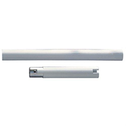 Tube droit blanc - 260 mm - Ø 33 mm - Système polyalu - Pellet ASC