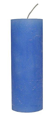 Rustic bougie lavande 200 x 70 mm colorée
