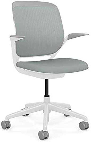 Steelcase Cobi Office Chair Arms With Soft Arm Caps Standard Carpet Casters Renewed