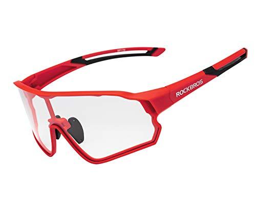 ROCKBROS Gafas de Sol Fotocromáticas Protección UV400 Ciclismo Bicicleta MTB Running Conducción Deportes para Hombres Mujeres