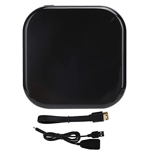 ciciglow Adaptador de Dongle de Pantalla inalámbrico, Adaptador HDMI inalámbrico, Receptor de Video de transmisión WiFi para iPhone/iPad/iOS/Android/PC/MacOS a TV/Proyector/Monitor
