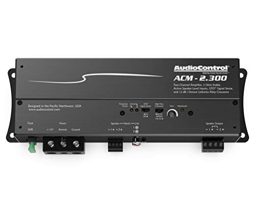 AudioControl ACM-2.300 75W x 2 Compact Amplifier