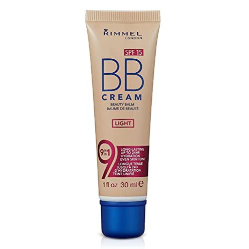 Rimmel BB-Creme mit 9 in 1 Gewichtsformel und Glanzeffekt (LSF 15) 30 ml