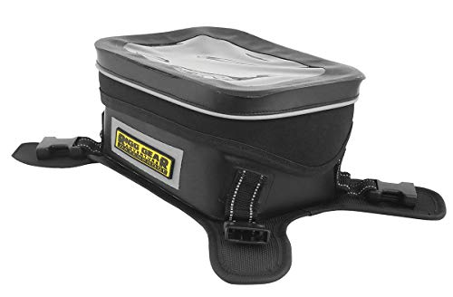 Nelson-Rigg SE-3060 Black/Grey Hurricane Dual Sport/Enduro Waterproof Tank Bag