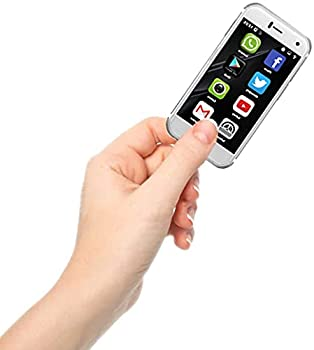 Mini Smartphone iLight 7+ The World s Smallest 7S Android Mobile Phone Super Small Tiny Micro 2.4  Touch Screen Global Unlocked Great for Kids 1GB RAM / 8GB ROM Tiny iPhone 7Plus Look Alike