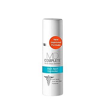 MD Complete Dark Spot Corrector - Anti-Aging - Professional Dark Spot Correction - With Tranexamic Acid Alpha Arbutin Vitamins C + E and Licorice Extracts