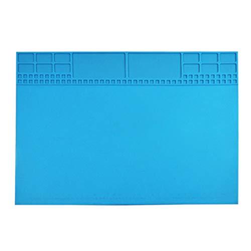 Moent Repair Mat alta temperatura resistente aislamiento silicona pad teléfono ordenador Repa cocina, comedor y bar