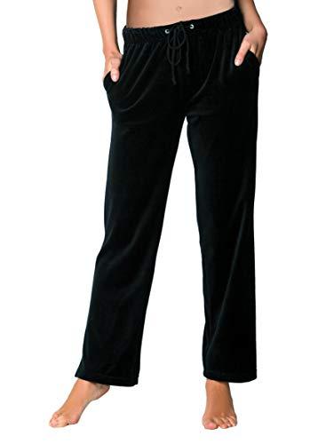 Comtessa Damen Nicki-Hose Jogginghose Homewear blau-schwarz 9236.49 (40)