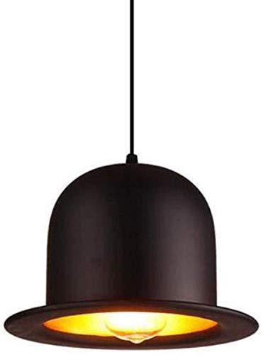 Industriële hanglampen, ronde hanglamp van E27-metaal voor de eettafel, kroonluchter met hangende verlichting voor eetkamer, slaapkamer en woonkamer, A
