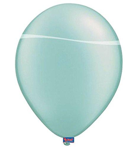 Folat - Globos de Turquesa Color para Fiesta - 12In/30cm - 50 Piezas