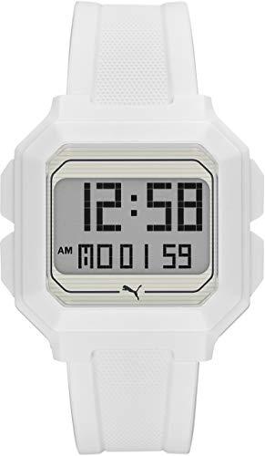 [プーマ] 腕時計 REMIX P5018 メンズ 正規輸入品 ホワイト