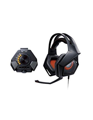 Asus Strix DSP virtuell 7.1 Gaming Headset schwarz/orange