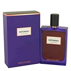 Oriental, Woody, Leathery. Subtle alchemy between woody provocation and leathery seduction, Patchouli by Molinard is infinitely sensual and addictive. A mixed and subversive eau de parfum, a great oriental feat! Fragrance Notes: Neroli, Patchouli, Mu...