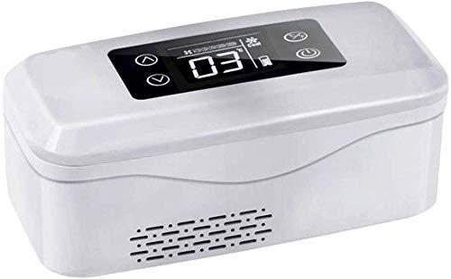 LLYU Insulin Cool Box Kleine, Insulin Cooler Travel Case voor Diabetische Organisator, geïsoleerde koeler tas voor geneesmiddelen medische koelbox, auto koelkast Oplaadbaar