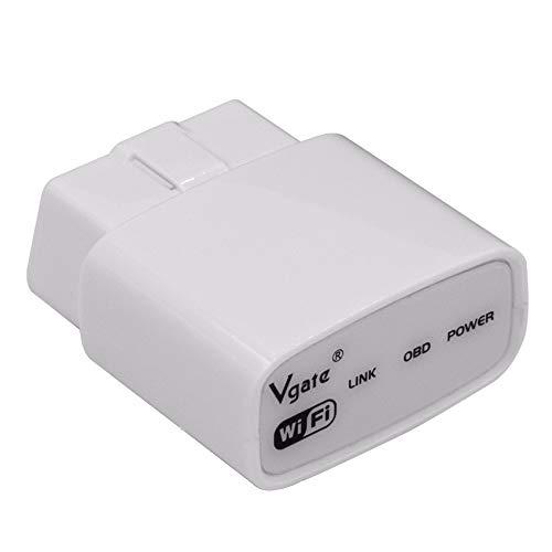 YONGYAO WiFi o versión Bluetooth J1850 Protocolo OBD2 Escáner de diagnóstico de Coche Compatible con Todos los protocolos OBDII para Android iOS PC-WiFi Tipo