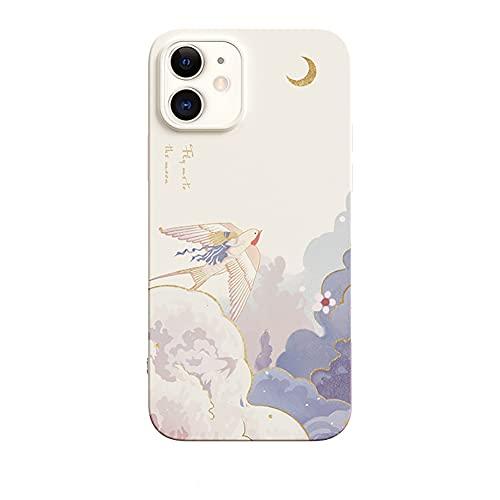 SRHNXW Funda para iPhone 12 Pro,Suave Silicona Shockproof Proteccion Carcasa de Telefono,Carcasa de TPU para móvil,B,iPhone11 Pro