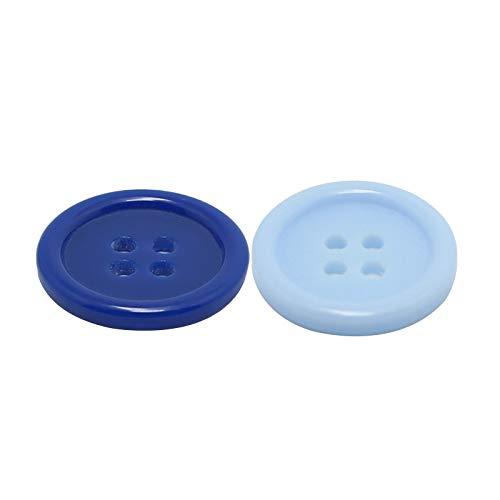 litulituhallo 2 paquetes de botones de bricolaje para hacer punto de patrón de agujero vintage botón de tejer botones de ropa usados proceso de botones