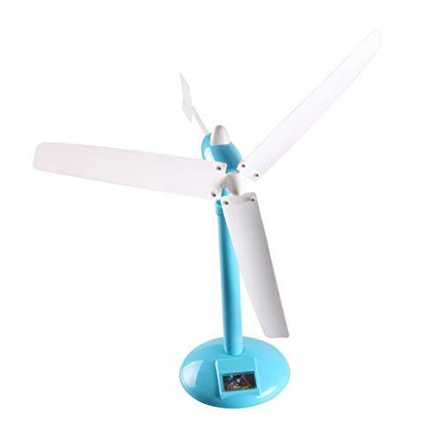 SM SunniMix Generador de Energía Eólica Kit de Ciencia Turbinas Generadoras de Electricidad Juguete de Física