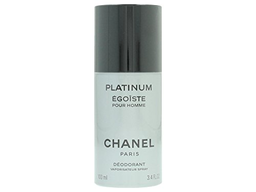 CHANEL Platinum Egoiste Pour Homme Deospray, 1er Pack (1 x 100 ml)
