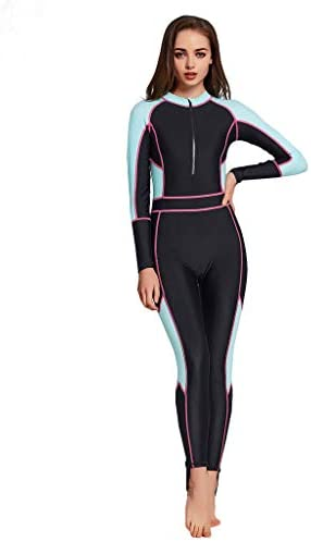 Arrowsy Sunprotection for Women Full Body Diving Suit Full Wetsuit Patchwork Breathable Sports product image