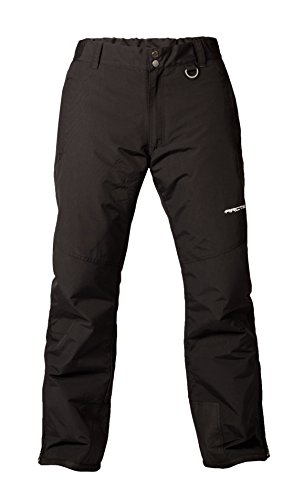 Arctix Men's Mountain Insulated Ski Pants, Black, Large (36-38W 32L)