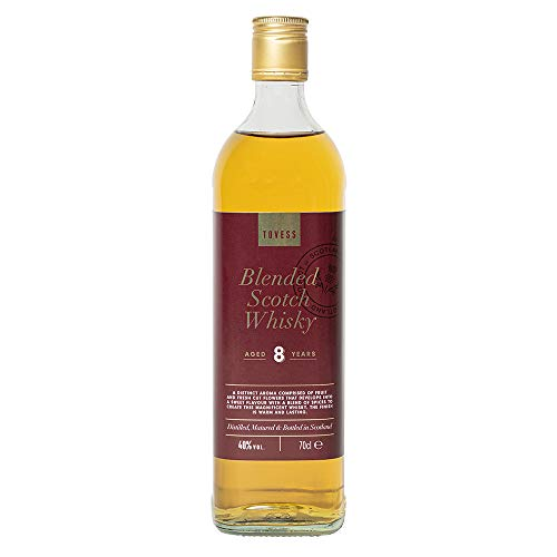 Tovess Blended Scotch Whisky, 8 Jahre gereift (0,7L)