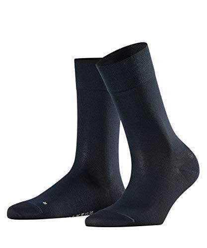 FALKE Damen Socken Sensitive Granada - Baumwollmischung, 1 Paar, Blau (Dark Navy 6379), Größe: 39-42