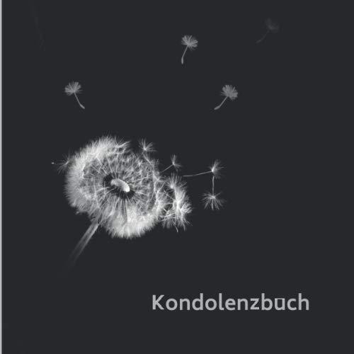Kondolenzbuch: Blanko Kondolenzbuch zum Auslegen auf der Trauerfeier oder Beerdigung