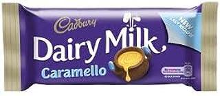 Cadbury Dairy Milk Caramello Chocolate Bar 47g (Pack of 5 ) from Ireland