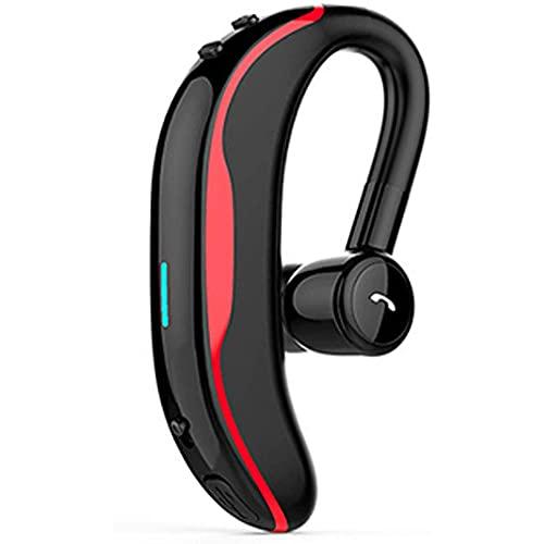 NCRD Auriculares inalámbricos Auriculares Bluetooth, auriculares de gancho for el oído, auriculares inalámbricos Auriculares de subwoofer Auriculares Cancelación de ruido Aparato ligero a prueba de su