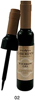 eyebrow gel classic red wine