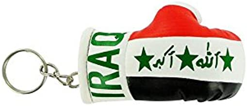 Akacha Porte cles Iraq Gant de Boxe Drapeau Flag cle Clef clefs Irak irakien Iraq